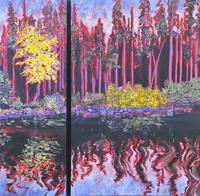 Fall on Murtle 36 x 36
