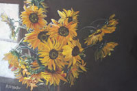 Kathys Sunflowers 26 x 24