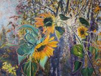 Sun & Flower 30 x 40